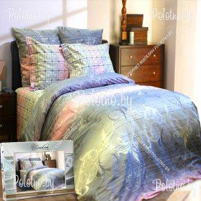 Купите комплект «Жаккард» сатин евро 50х70 — сатиновое постельное белье