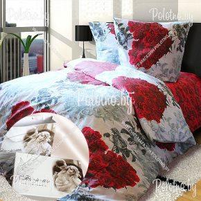 Купите комплект «Сердце любви» сатин двуспальный 50х70 — сатиновое постельное белье