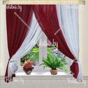 Готовые шторы для кухни тифани