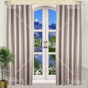 Комплект готовых штор в спальню и гостиную Мантана — 2.5  арт.Б302