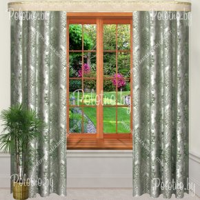 Комплект готовых штор в спальню и гостиную Мантана — 2.5
