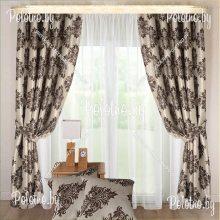 Комплект штор Версаль с подушками — 2.5 без тюля