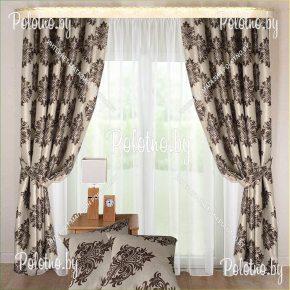 Шторы Версаль с подушками
