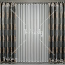 Комплект штор Виконт — 2.6 без тюля