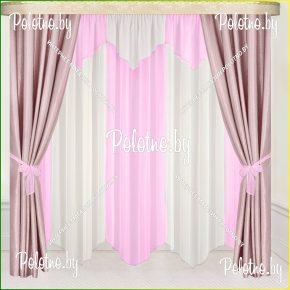 Комплект готовых штор в спальню и гостиную Дорис — 2.5