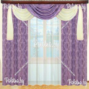 Комплект готовых штор в спальню и гостиную Эдельвейс — 2.5