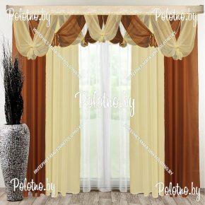 Комплект готовых штор Фелиция — 2.5