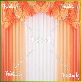 Комплект готовых штор в спальню и гостиную Фелиция — 2.8
