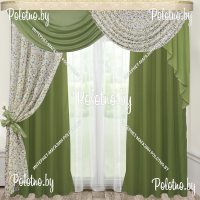 Комплект готовых штор в спальню и гостиную Камелия — 2.5