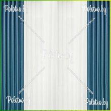 Комплект штор Катрина синий — 2.5