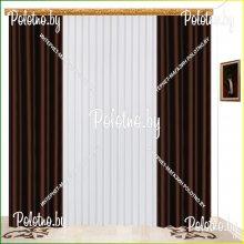 Комплект штор Катрина венге — 2.5
