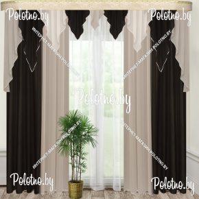 Комплект готовых штор в спальню и гостиную Лаванда — 2.5
