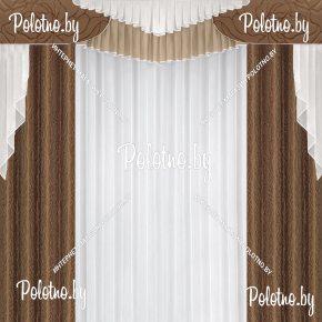 Комплект готовых штор в спальню и гостиную Лион — 2.5