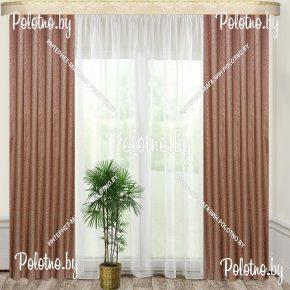 Комплект готовых штор в спальню и гостиную Оптима-У 2.5