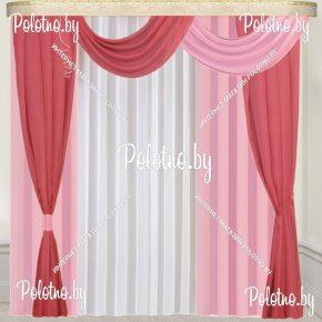 Комплект готовых штор в спальню и гостиную Скарлет — 2.5