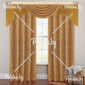 Комплект готовых штор в спальню и гостиную Таис — 2.5
