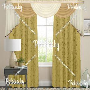 Комплект готовых штор в спальню и гостиную Версаль — 2.5