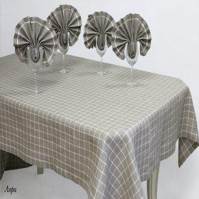 Льняной столовый набор Лора 140х250