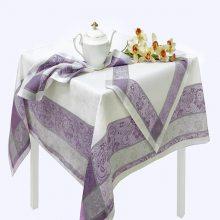 Комплект столовый Ажурная лен 150х250