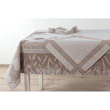 Комплект столовый Ранчо лен 150х175