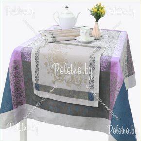Льняной комплект столовый Серенада