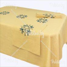 Комплект столовый Аделия-2 с вышивкой 143х250