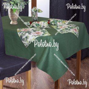 Столовый набор Акварель скатерть и салфетки арт.