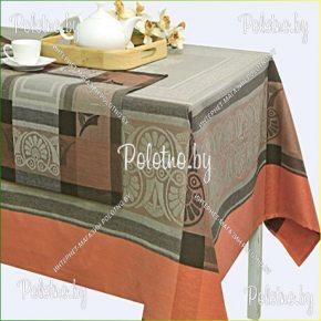 Льняной комплект столовый Эллада с салфетками арт. 17с240
