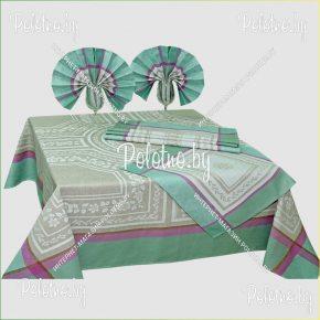 Комплект столовый Гречанка в наборе со скатертью и салфетками 150х200