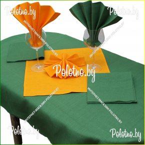 столовый набор контраст скатерть и салфетки