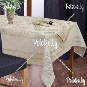 столовый набор Кружевница скатерть 150х200 и салфетки