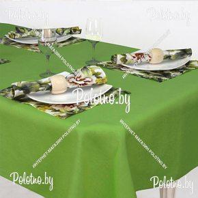 Столовый набор Акварель скатерть и салфетки арт.13с266