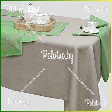 Комплект столовый Полонез лен 143х300