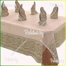 Столовый льняной набор Вирсавия на 6 персон 150х250