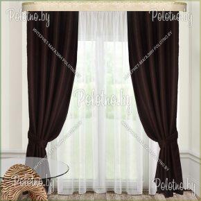Комплект готовых штор в спальню и гостиную Меркурий — 2.5