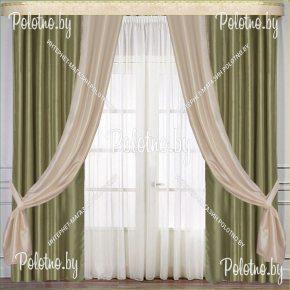 Комплект готовых портьер в спальню и гостиную Нептун — 2.5