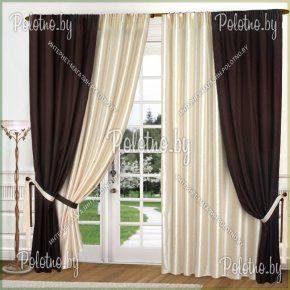 Комплект готовых портьер в спальню и гостиную Венера — 2.5