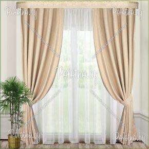 Комплект готовых штор в спальню и гостиную Земфира — 2.5