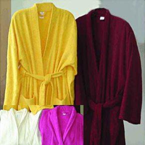 Банный махровый халат женский и мужской