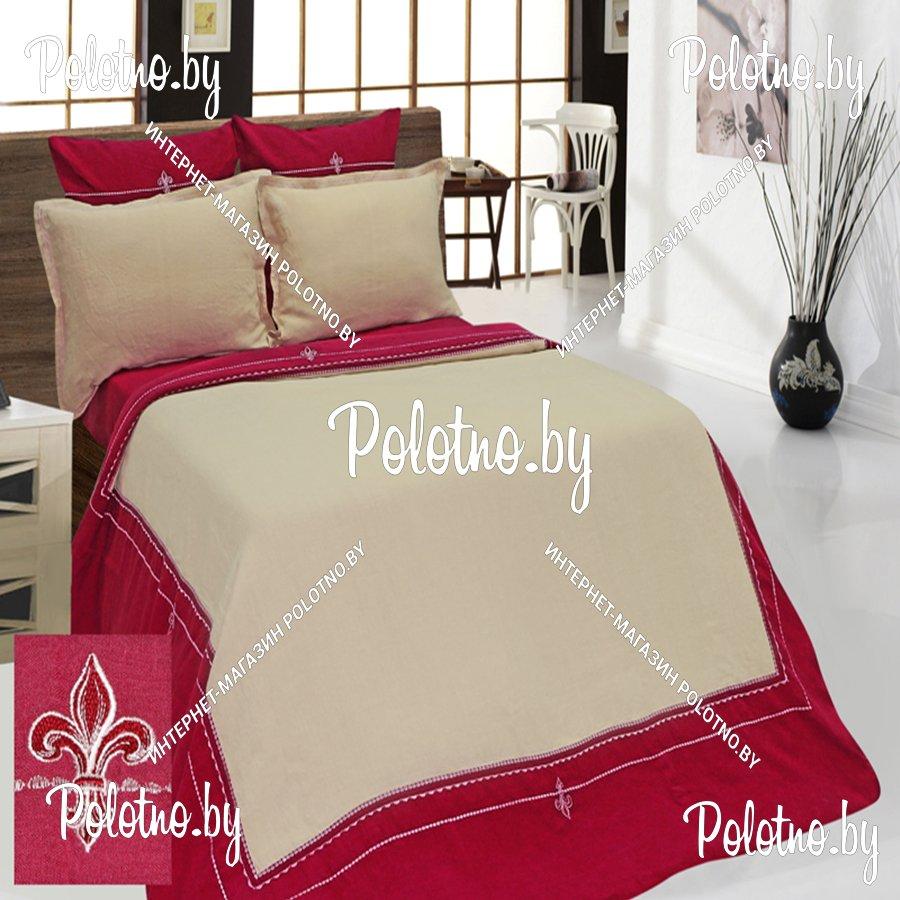 Льняное постельное белье с вышивкой 90